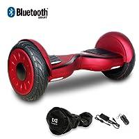 "Cool&Fun Board Elektro Scooter E-Balance E-Skateboard 10"" JUNMA 350WX2 -Bluetooth- LED - Tasche - Fernbedienung"