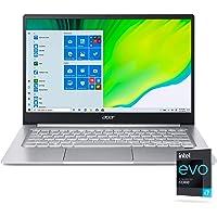 "Acer Swift 3 Intel Evo Thin & Light Laptop, 14"" Full HD, Intel Core i7-1165G7, Intel Iris Xe Graphics, 8GB LPDDR4X…"