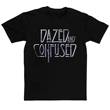 9a762c331db Men s Dazed and Confused Classic Rock Music Tribute T-shirt (black white  small