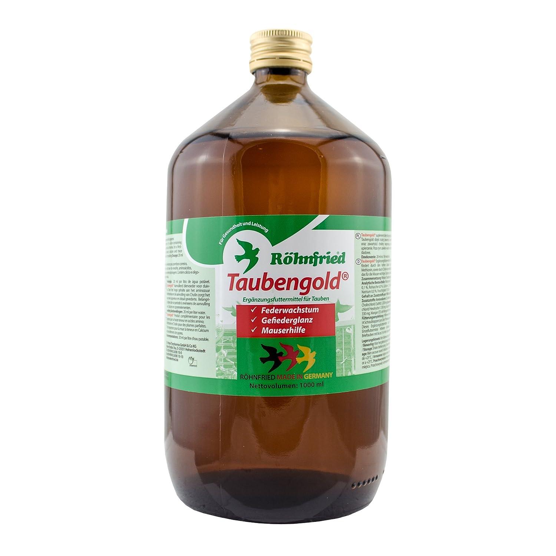 Röhnfried Taubengold - Mauser- und Aufzuchthilfe für Tauben (1000 ml)