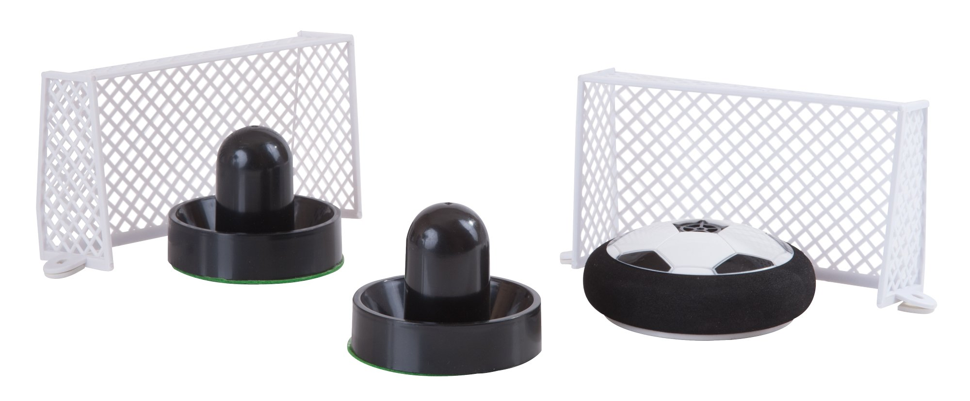 The Paragon Air Hockey - Soccer Tabletop Multiplayer Game with Nets and Soccer Hockey Puck