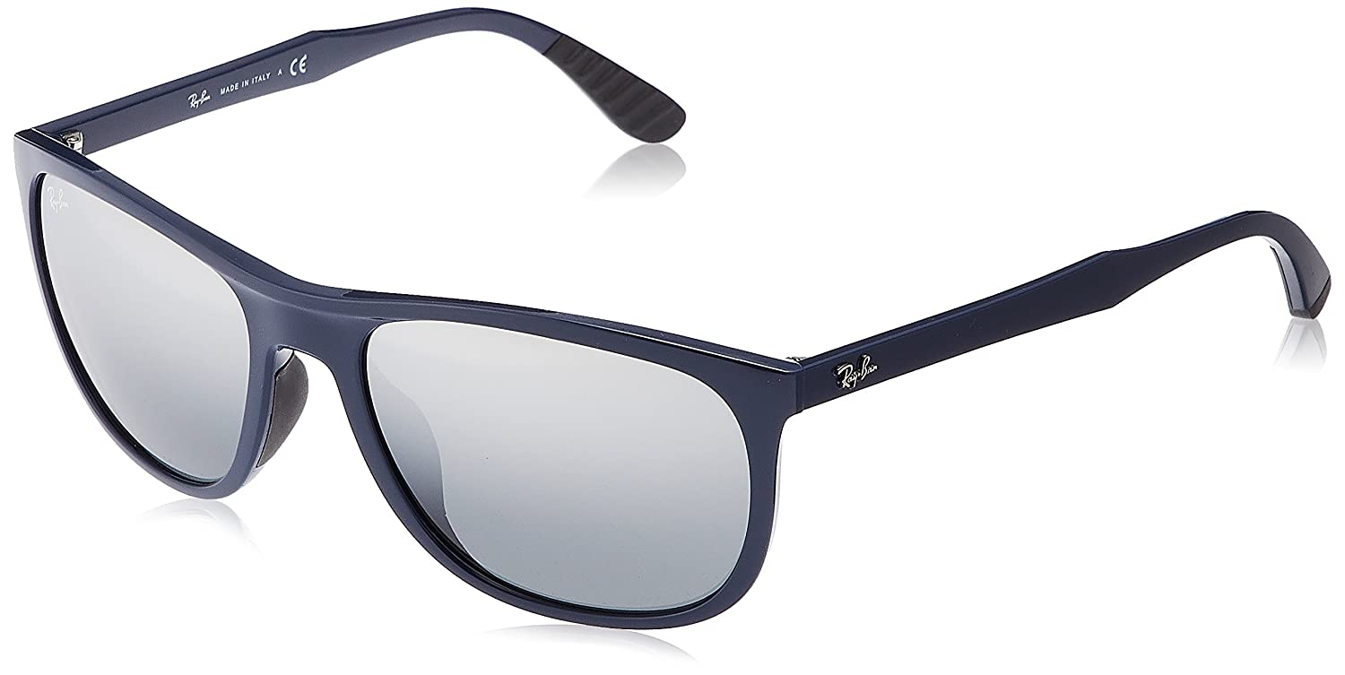 d82f298146 Amazon.com  Ray-Ban Men s Injected Man Sunglass Iridium Square