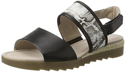 Para Shoes Con MujerNegroschw Gabor W ComfortSandalias Cuña rCxedBo