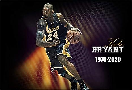 Kobe Bryant Poster 24 in x 36 in Gigi Bryant TRIBUTE