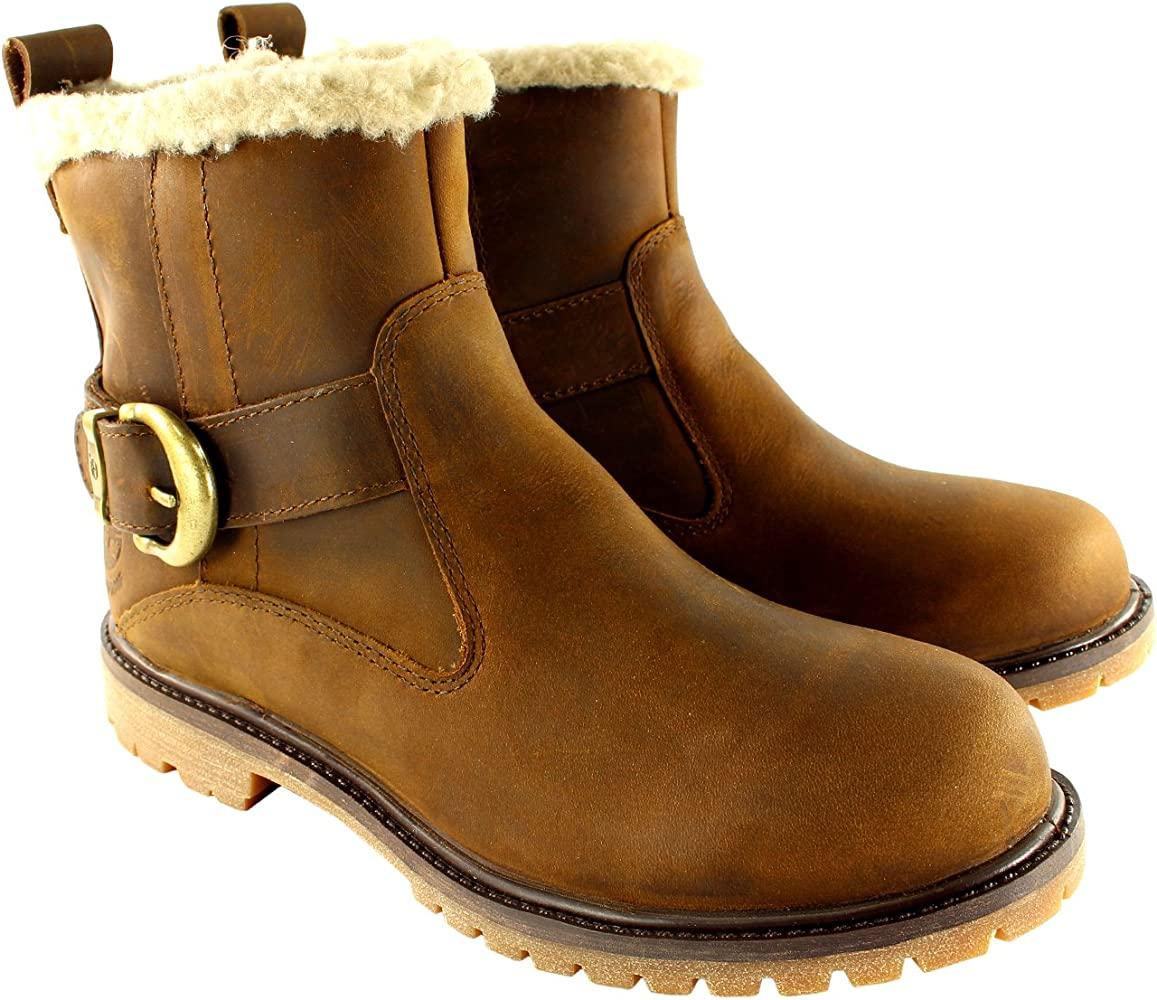 Timberland Nellie Womens Waterproof Pull On Mid Calf Buckle