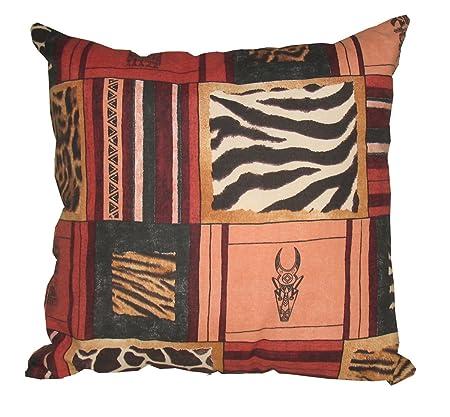 Cuscini Olibo.Olibo Cuscino Bombato Disegno Africa Etnico Patchwork Amazon It