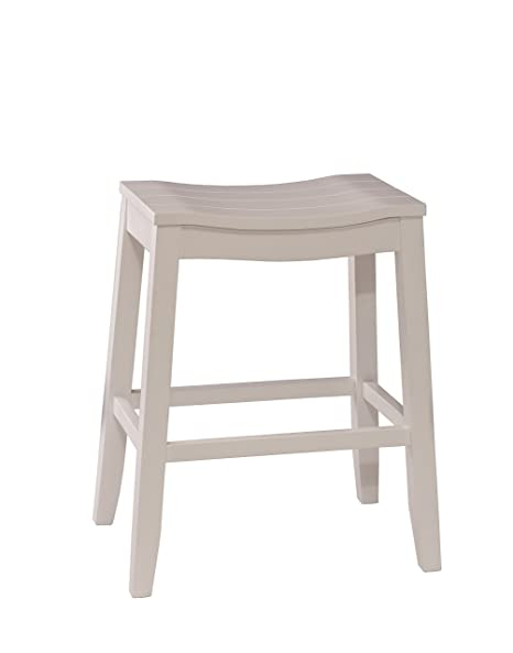 Amazon Com Hillsdale Furniture 5947 830 Fiddler Bar Stool White