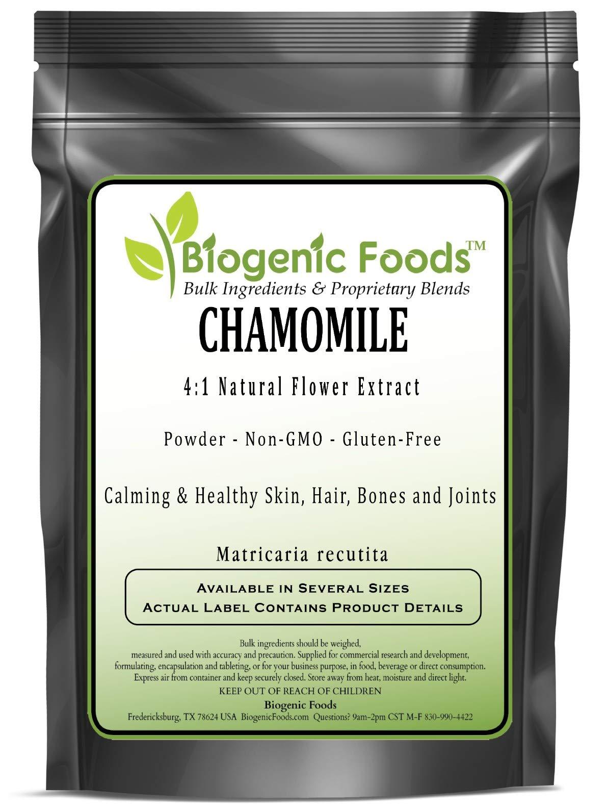 Chamomile - 4:1 Natural Flower Powder Extract (Matricaria recutita), 10 kg