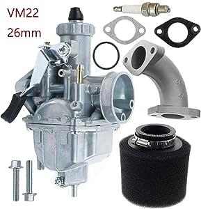 VM22 Carbhub VM22 26mm Carburetor for Intake Pipe Pit Dirt Bike 110cc 125cc 140cc Lifan YX Zongshen Pit Dirt Bike XR50 CRF70 KLX BBR Apollo Thumpstar Braaap Atomic DHZ SSR VM22 26mm Carburetor