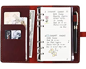 Amazon.com : Refillable Organizer with 6 Ring Binder ...