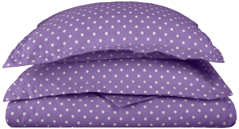 Superior Polka Dot Duvet Cover Set 600 Thread Count