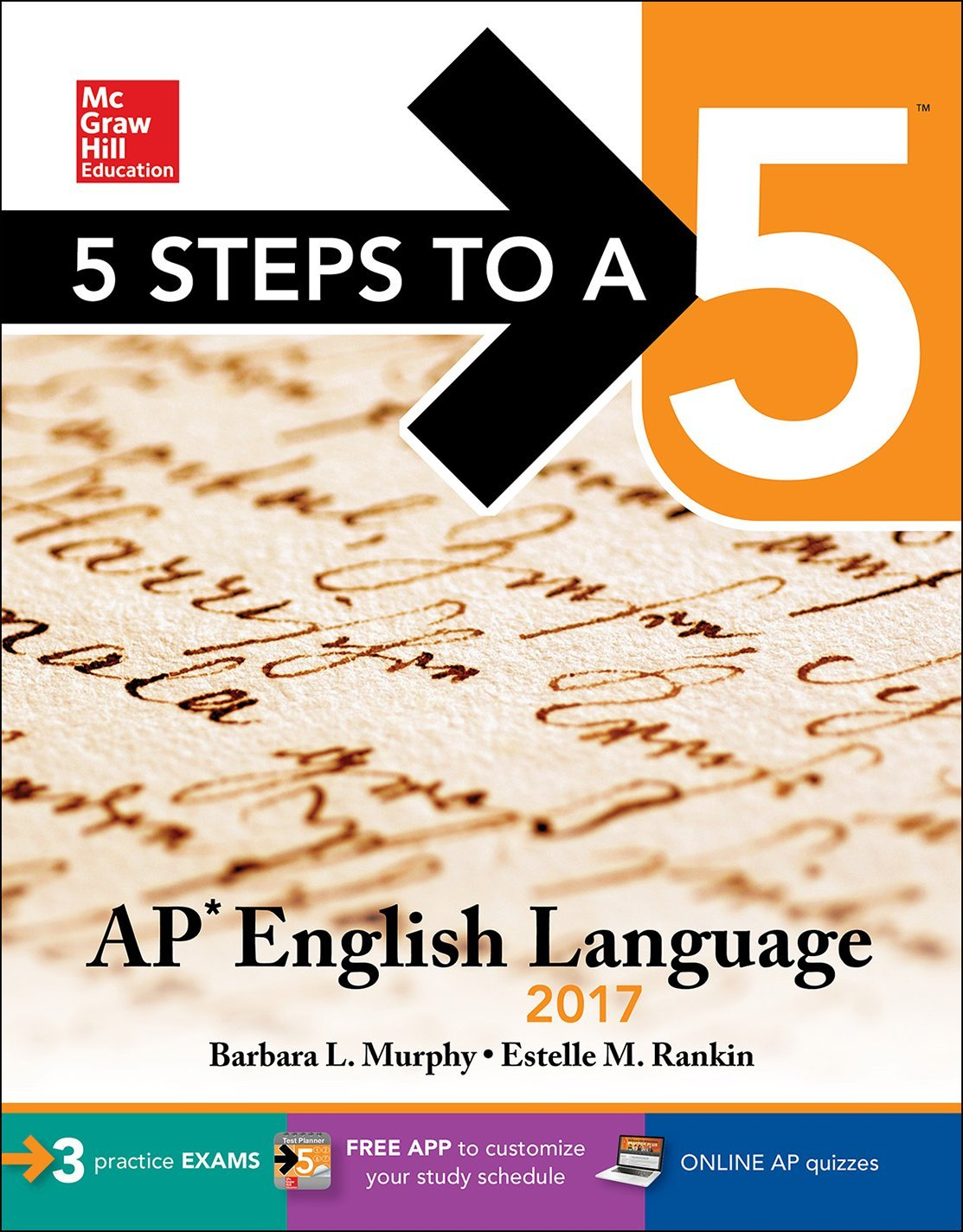 5 Steps to a 5: AP English Language 2017 (McGraw-Hill 5 Steps to A 5) by McGraw-Hill Education