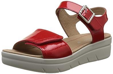 Stonefly AQUA III 2 Rouge - Chaussures Sandale Femme