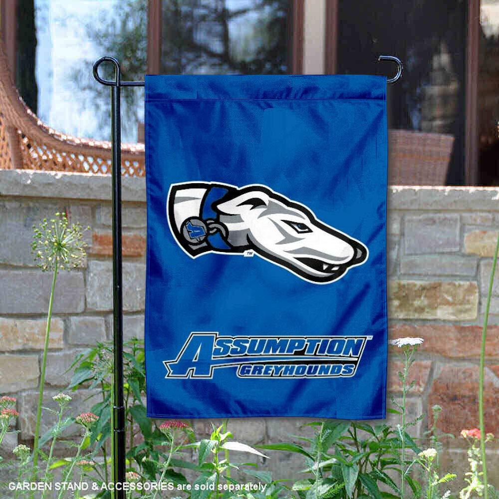Assumption College Greyhounds Garden Flag
