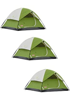 3dc330b6bfc Amazon.com : Coleman Dome Tent for Camping | Sundome Tent with Easy ...