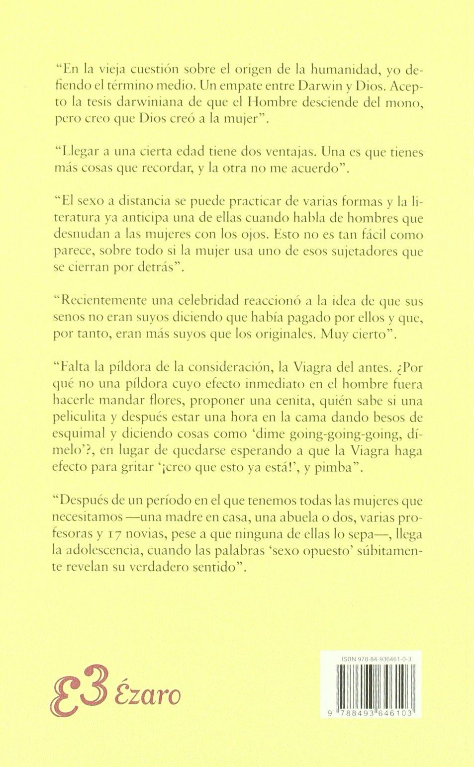 SEXO EN LA CABEZA / EZARO-UDL: LUIS FERNANDO VERISSIMO: 9788493646103: Amazon.com: Books