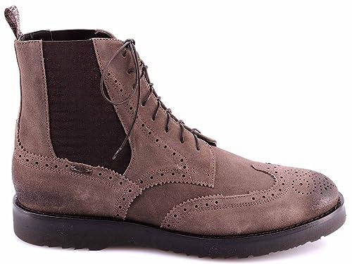 Scarpe Stivaletti Uomo ALBERTO GUARDIANI Drive Shoes Citizen Camoscio  Marrone 5ad8d8ff2c1