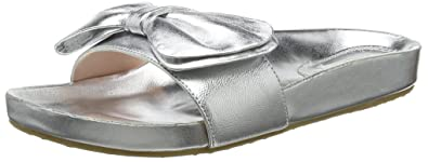 Dune Damen Fenela Zehentrenner, Silber (Silver Silver), 40 EU