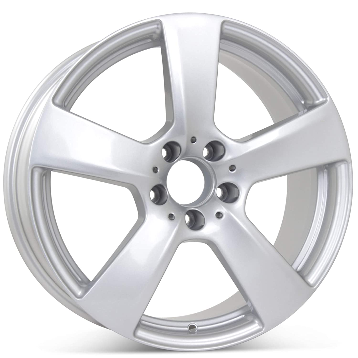 New 18 inches x 8.5 inches Alloy Replacement Front Wheel compatible with Mercedes E350 E550 2010 2011 Rim 85129
