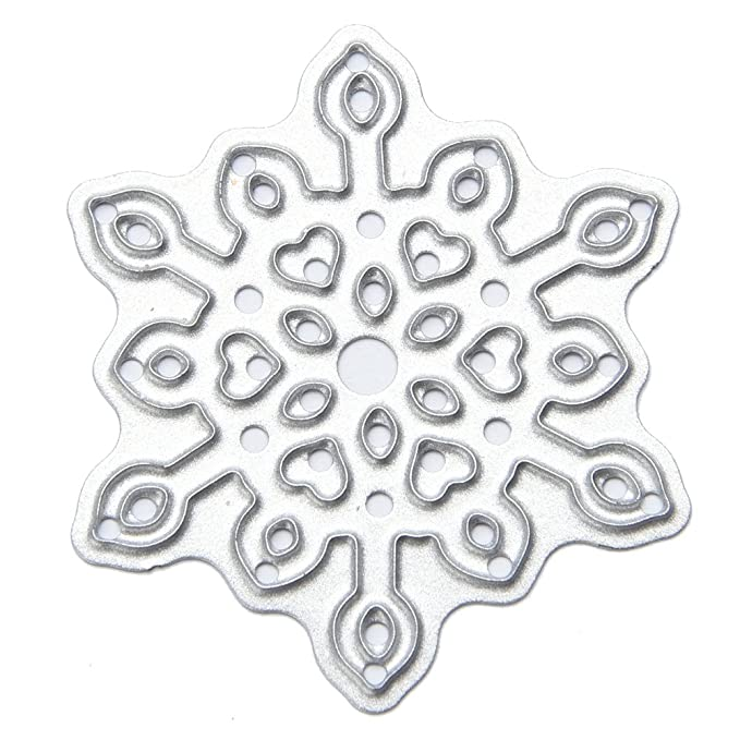 SHOT – in Schneeflocken Formen Schablonen DIY Scrapbook Karte Papier ...