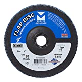 Mercer Industries 263060 Zirconia Flap Disc, High
