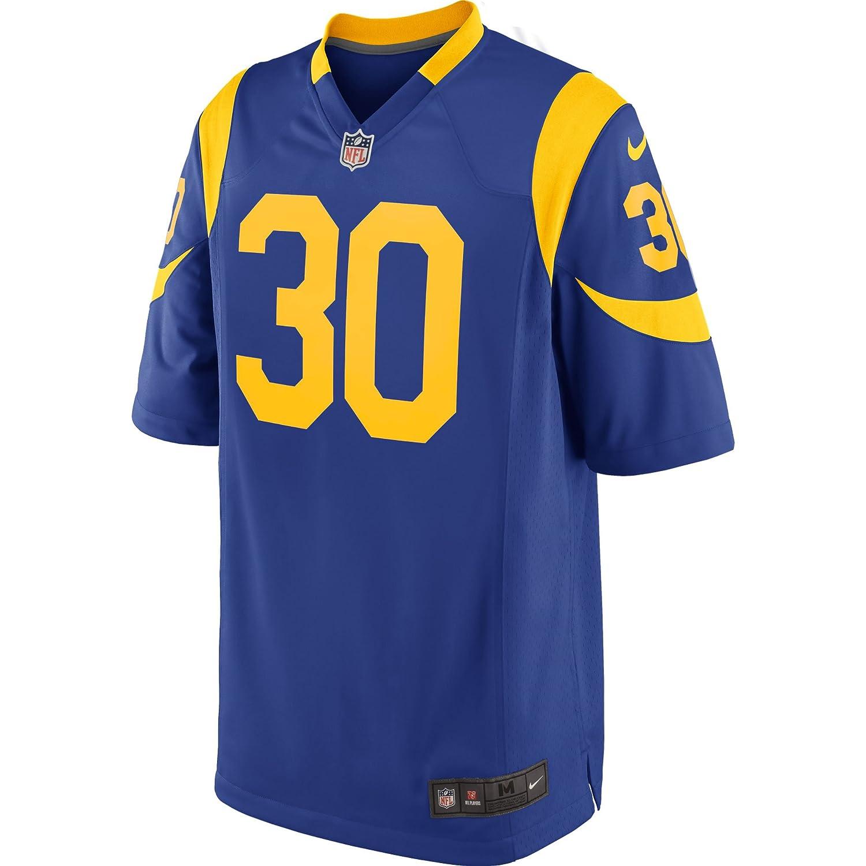 c594398b1c9 Amazon.com  Nike Youth Kids Medium (10-12) Todd Gurley II Los Angeles Rams  Throwback Alternate Game Jersey - Royal Blue  Clothing