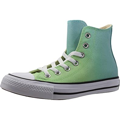 cbe31aa5c57f Converse Women s Chuck Taylor All Star Hi Trainers Illusion Green 3.5 D(M)  US