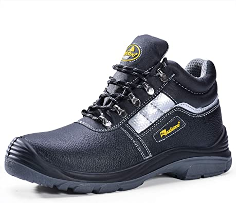 SAFEYEAR Heavy Duty Safety Boots Mens