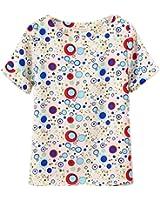 ROPALIA Ladies Girl summer Chiffon Loose Blouse Multicolors T-shirt Batwing Tops