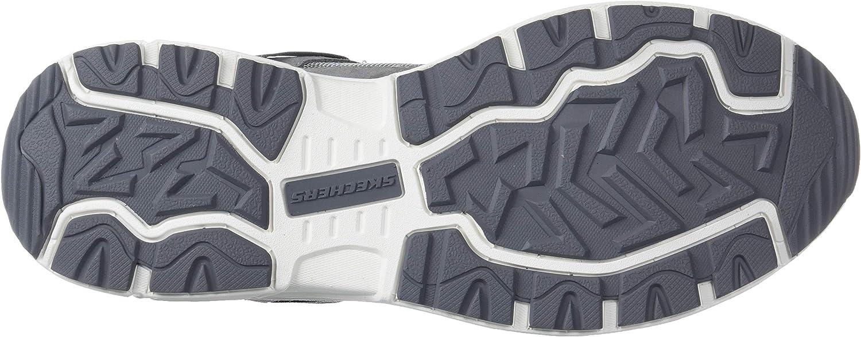 Skechers Oak Canyon, Baskets Homme Grigio Bianco