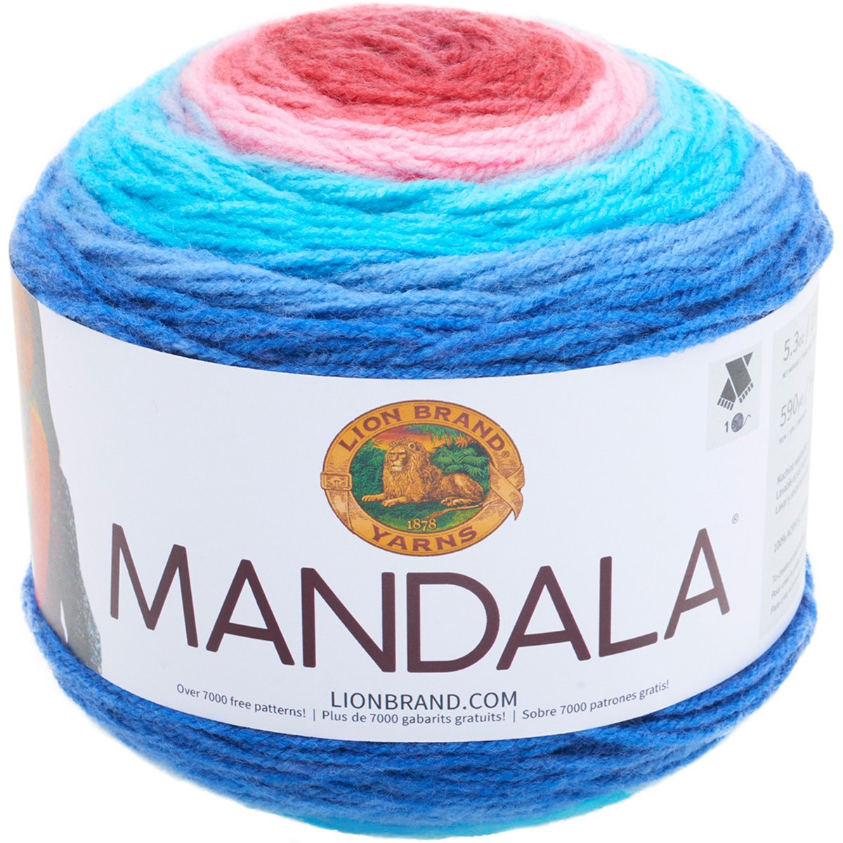 Lion Brand Yarn 525-209 Mandala Yarn Gnome