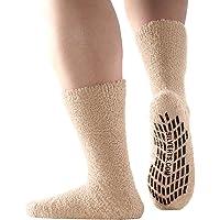 Non Skid Hospital Socks/No Slip Socks - Best Fuzzy Gripper Socks - Slipper Socks