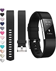 DigiHero For fitbit Charge 2 straps,Replacement strape for Fitbit charge 2 strap, Adjustable Sport Wristbands for Women/Men,Small/Large