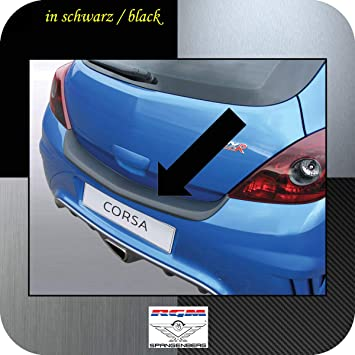 Richard Grant Mouldings Ltd. Original RGM ladekant Protección Negro para Opel Corsa D Modelos OPC