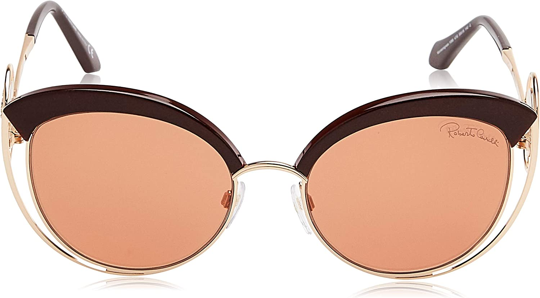 Sunglasses Roberto Cavalli RC 1090 Monteriggioni 33G gold//other//brown mirror