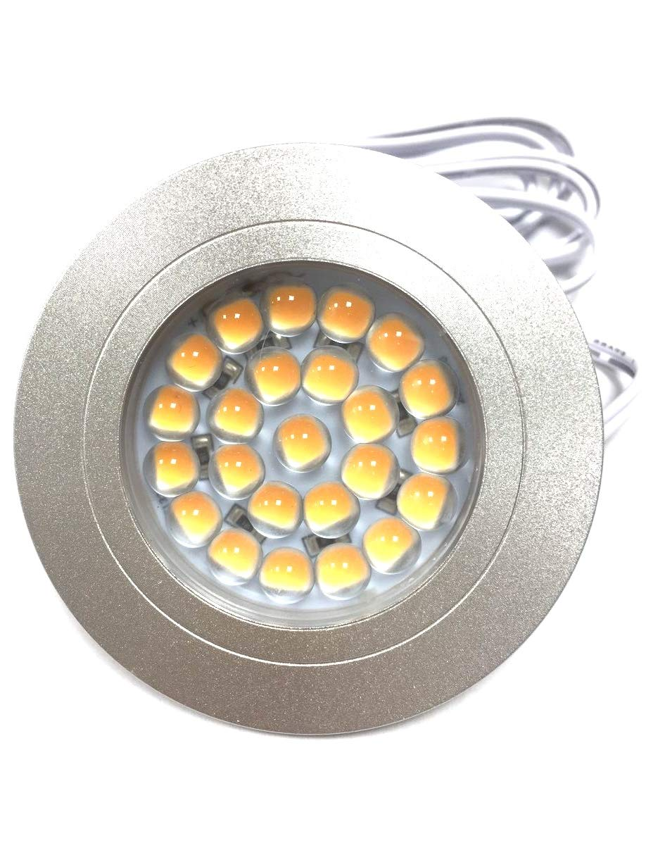 2.5W 250LM 12VAC CRI80 SMD Cutout 60mm LED Cabinet lamp (Cold White)