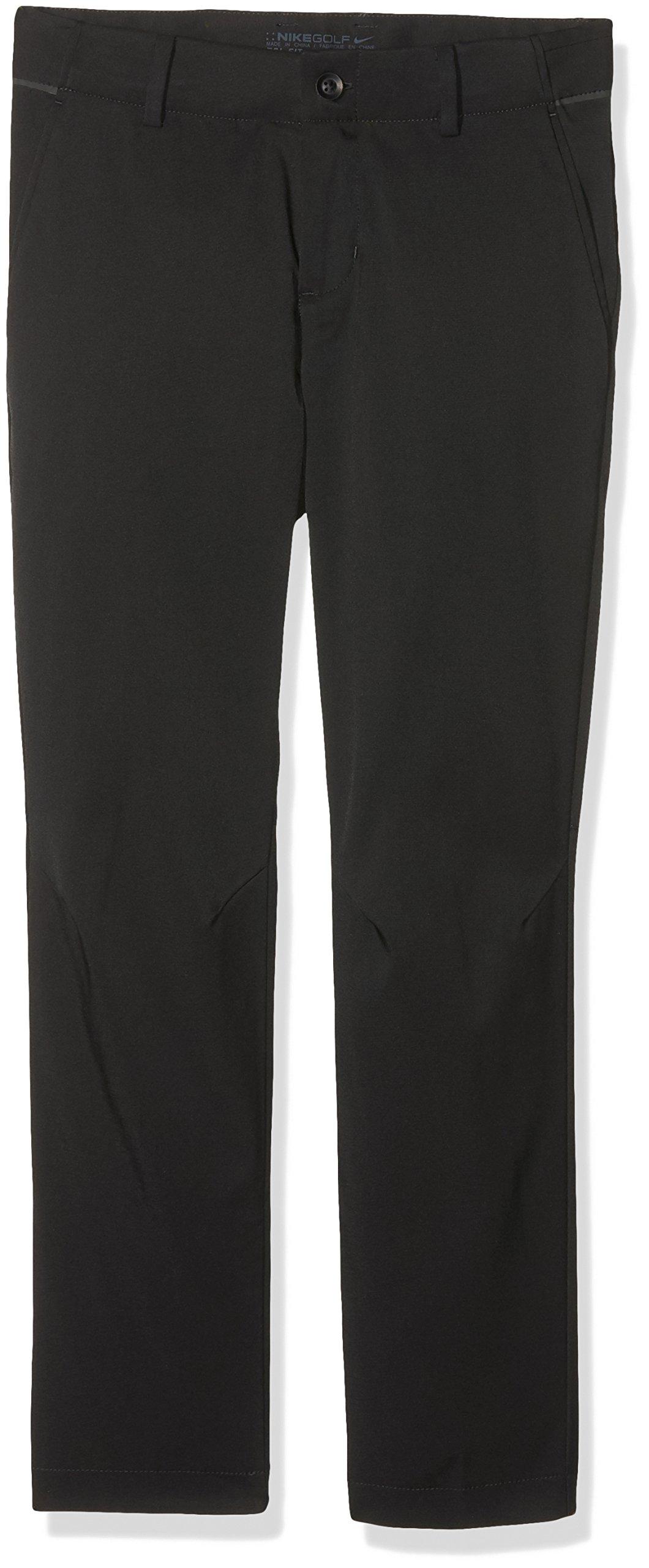 NIKE Boys Flex Golf Pants (Medium, Black)