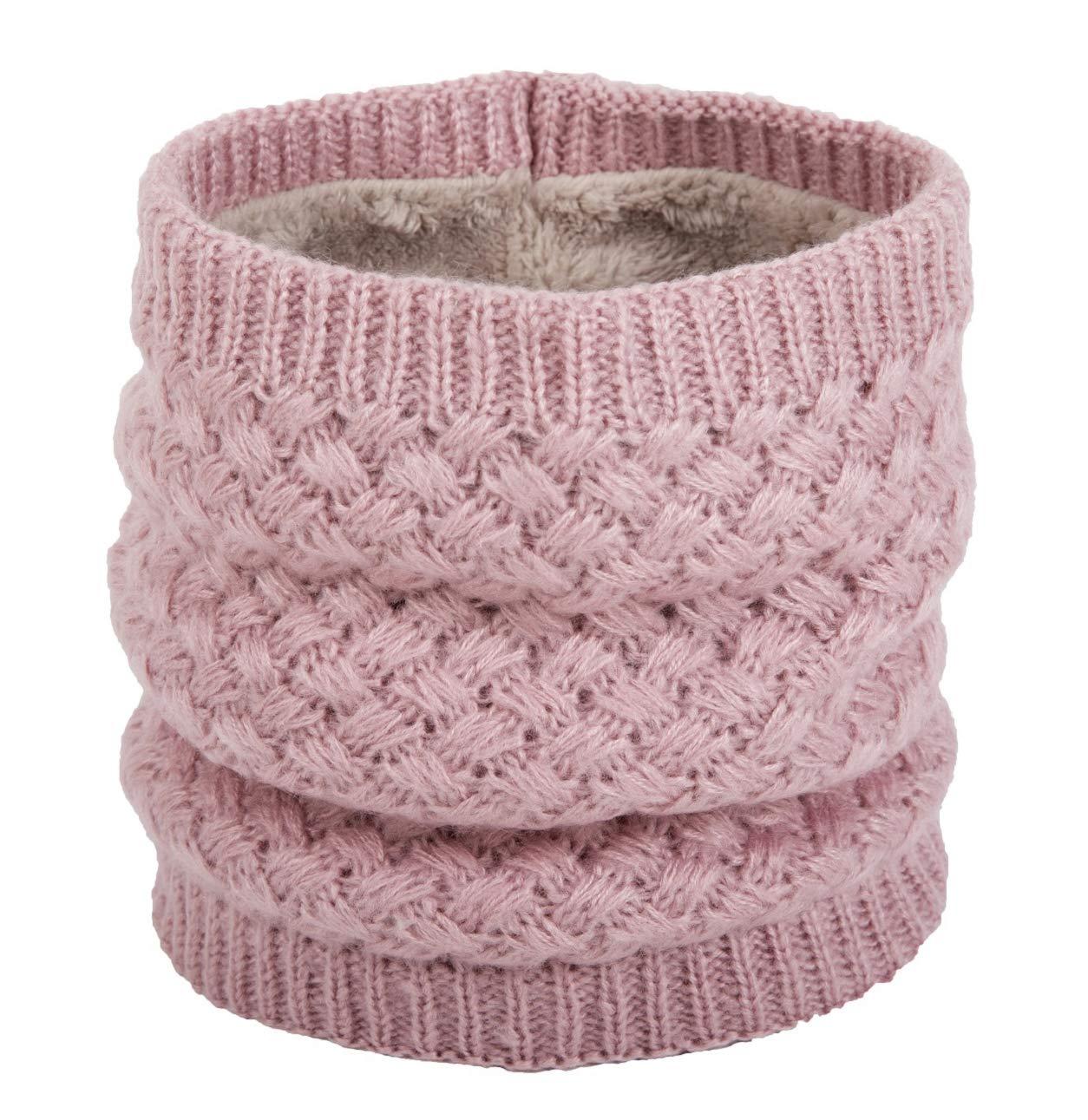 02cdb974ac2553 Yuson Girl Sciarpa in maglia unisex, Inverno scamosciato spessore scaldino  per sciarpa per donne e