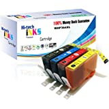 1 set of 4 Compatible HP 364XL ink Cartridges (With APEX Chip/with ink level) 1 x Black Ink 23ml (364XLBK / CB684EE) 1 x Cyan Ink 14.5ml (364XLC / CB323EE) 1 x Magenta Ink 14.5ml (364XLM / CB324EE) 1 x Yellow Ink 14.5ml (364XLY / CB325EE)