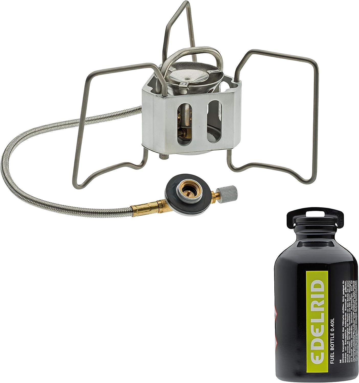 EDELRID Mens Kocher Zuberh/ör Fuel Bottle