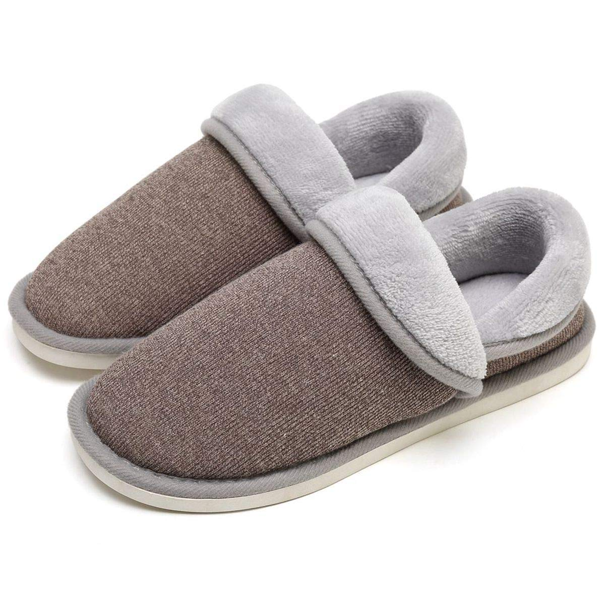 SOSUSHOE Unisex Cozy House Slippers, Fluffy Foldable Boots Winter, Moccasin Slippers Shoes Indoor Outdoor
