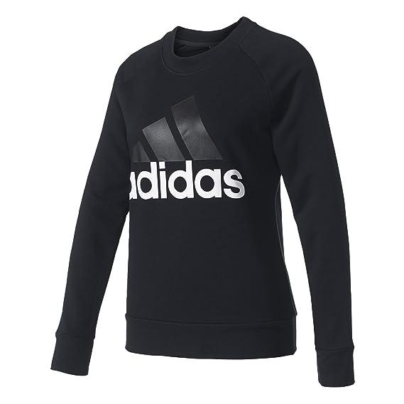 adidas ESS Lin Hosen für Damen, Schwarz (SchwarzWeiß), 2XL
