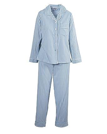 National Flannel Pajamas, Blue, X-Large - Misses LongSleeve ...