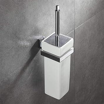 lllqq - Escobilla de baño de Acero Inoxidable con Soporte ...