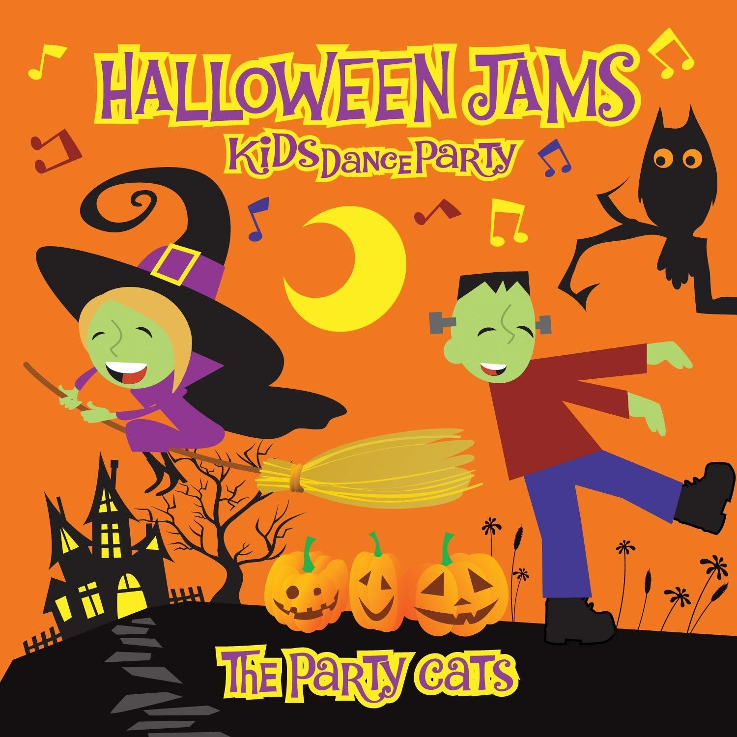 The Party Cats - Kid\'s Dance Party: Halloween - Amazon.com Music