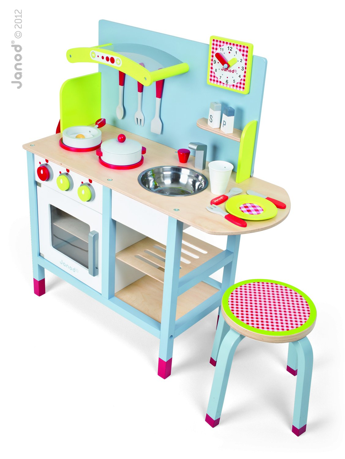 Amazon.com: Janod Picnik Duo Kitchen: Toys & Games