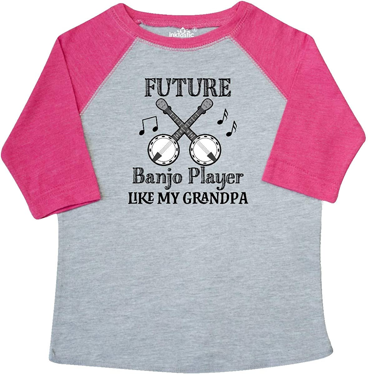 inktastic Future Banjo Player Like Daddy Baby T-Shirt