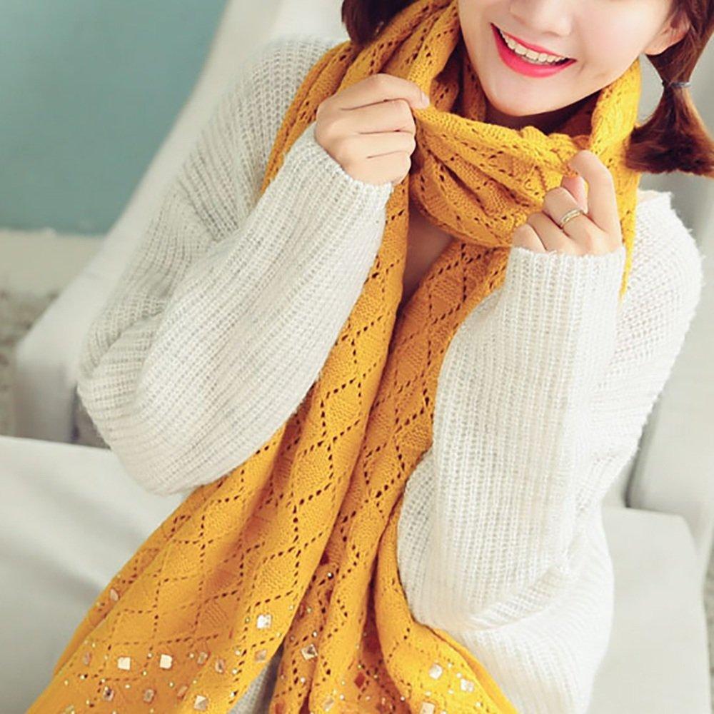 Chal con bufandas La bufanda gruesa caliente de la bufanda del otoño y del invierno de la bufanda de...