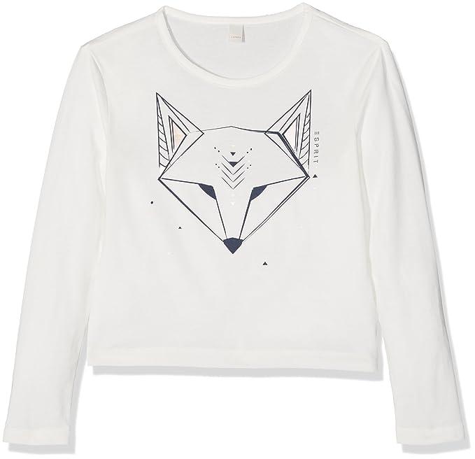 Esprit RK10215, Camiseta para Niñas, Blanco (Off White 110), 12 años