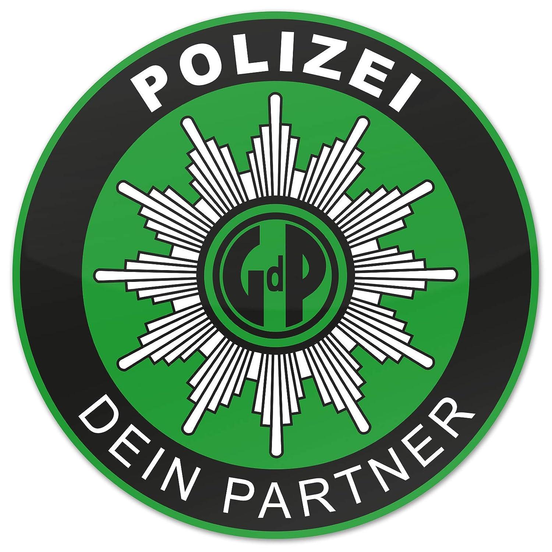 Polizei GDP 2X Aufkleber Innen Knö llchenstop Gewerkschaft Sticker Grü n Treuekarten